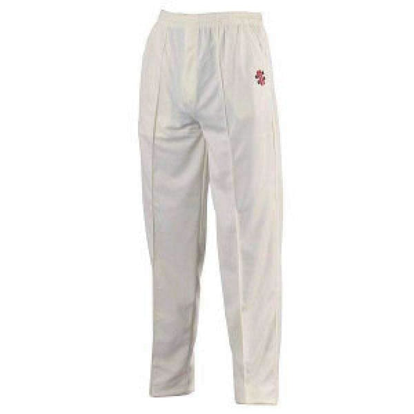 Gray-Nicolls Super Ivory Navy Trim Pant - CLOTHING - PANTS