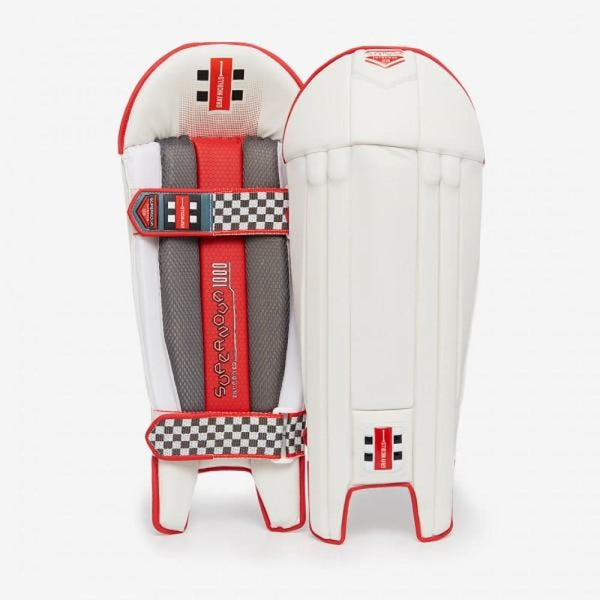 Gray Nicolls Supernova 1000 Wicket Keeping Pads Legguards - Mens - PADS - WICKET KEEPING