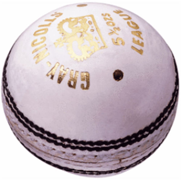 Gray-Nicolls Test Match White Ball 4-P - BALL - 4 PCS LEATHER