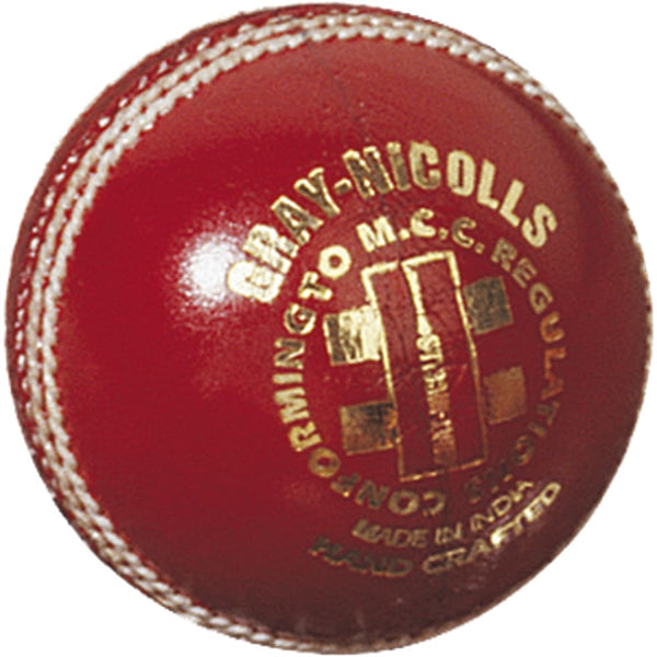 Gray-Nicolls Test Special Red 4-P Ball - BALL - 4 PCS LEATHER