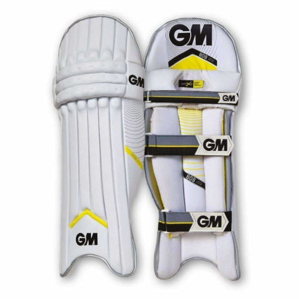 GUNN & MOORE 808 Limited Edition Green Batting Pads Leg Guards - PADS - BATTING