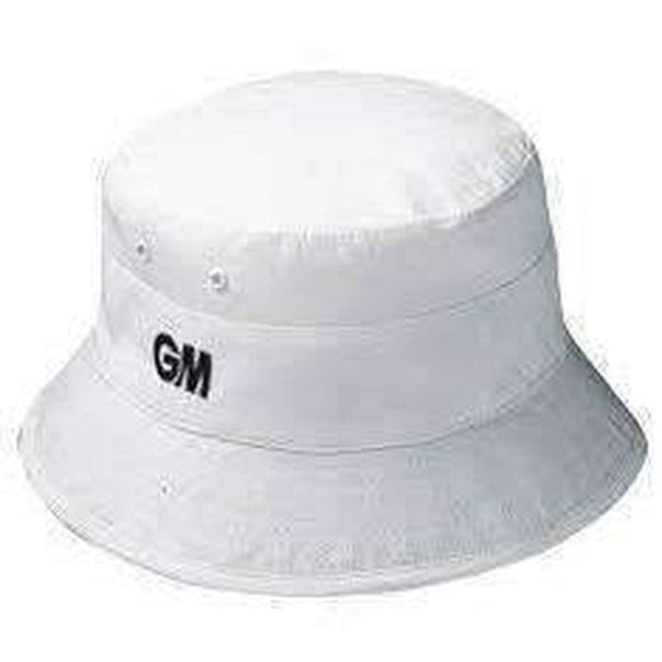 GUNN & MOORE Floppy White Hat - CLOTHING - HEADWEAR