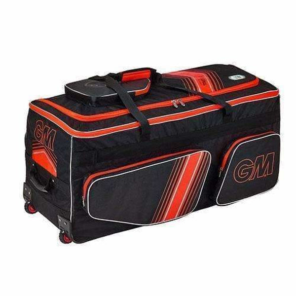 GUNN & MOORE Original Easi-Load Wheelie Black/ Red Bag - BAG - PERSONAL