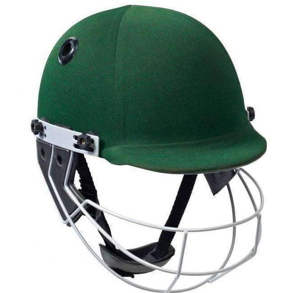 GUNN & MOORE Pro Select Green Helmet - HELMETS & HEADGEAR