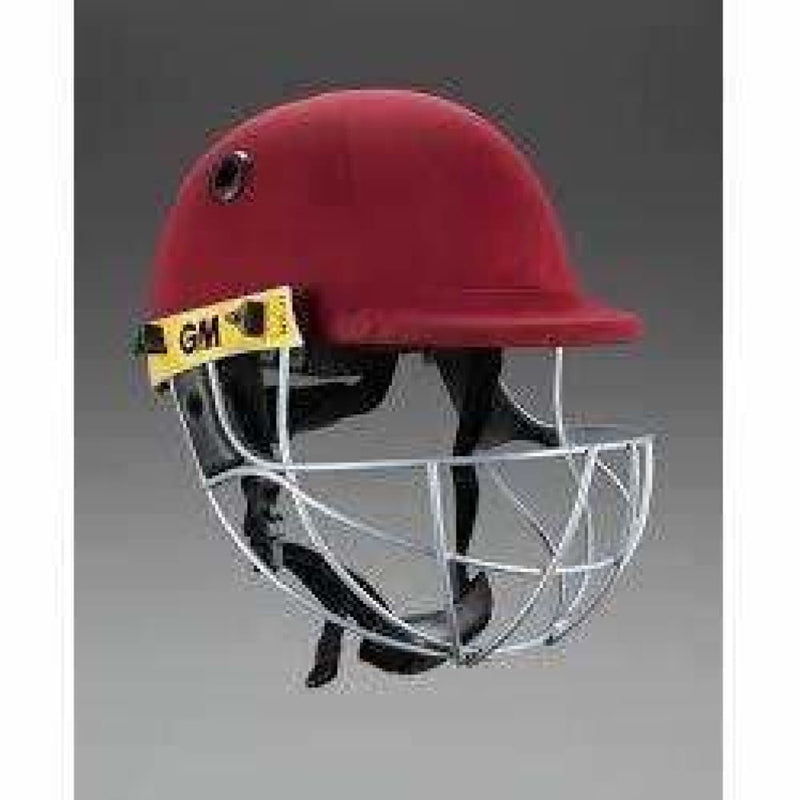 GUNN & MOORE Pro Select Maroon Cricket Helmet - HELMETS & HEADGEAR