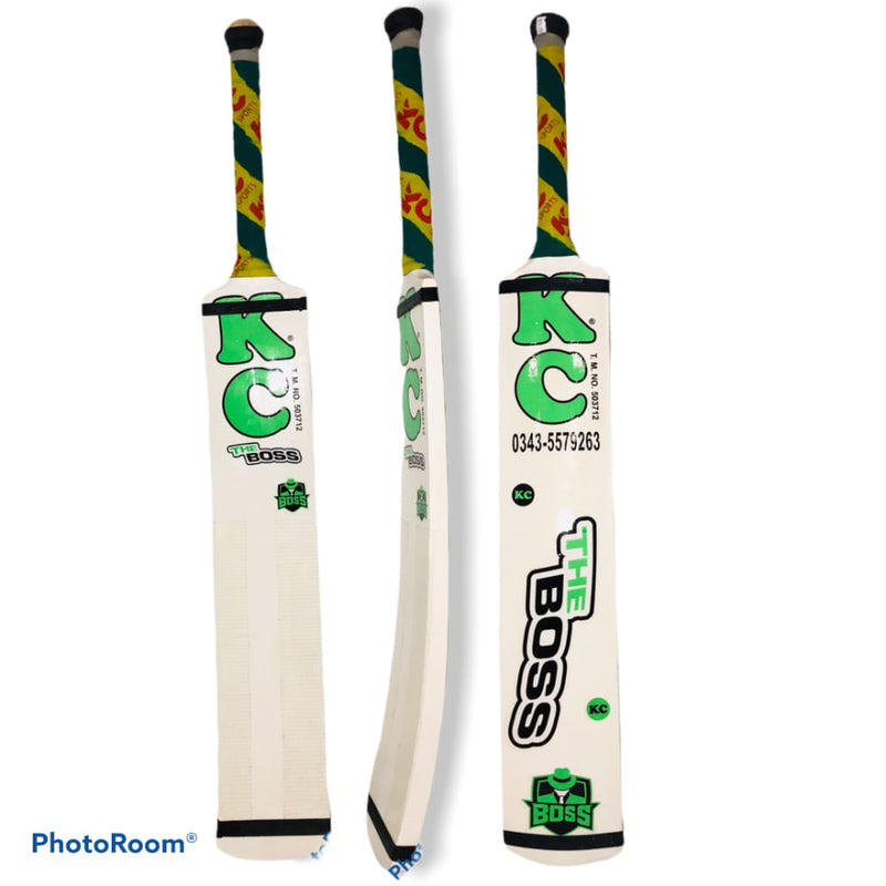 KC The Boss Cricket Bat Tape Tennis White Khurram Chakwal Powerful Stroke - BATS - SOFTBALL