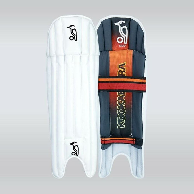 Kookaburra 500 Wicket Keeping Pads Legguards - Mens - PADS - WICKET KEEPING