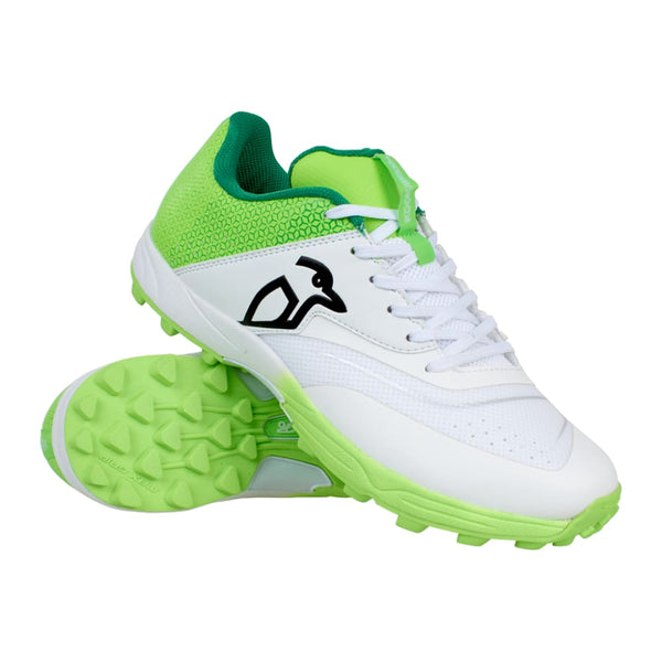 Kookaburra KC 2.0 Cricket Shoes Rubber Sole Lime - FOOTWEAR - RUBBER SOLE