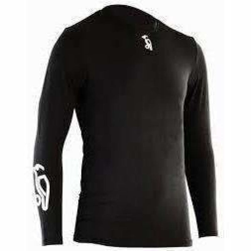 Kookaburra Skin Fit Black Pro Base Layer - CLOTHING - SHIRT