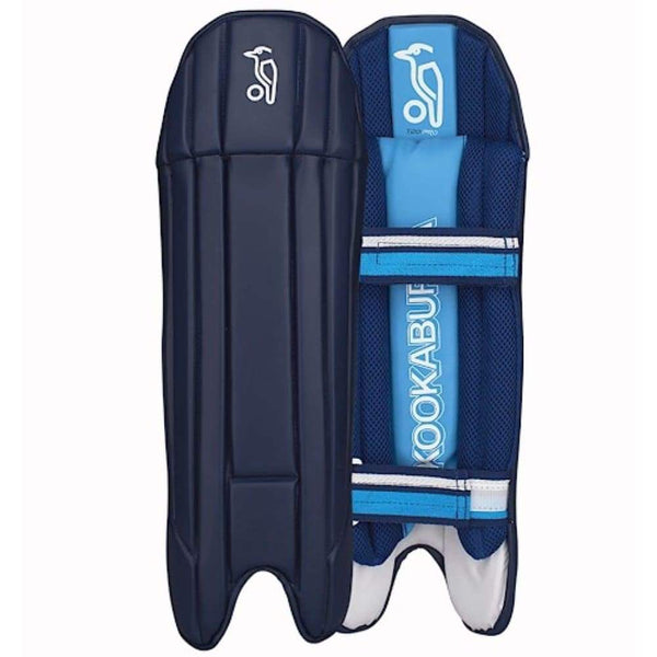 Kookaburra T20 Pro Wicket Keeping Pads Navy - Mens - PADS - WICKET KEEPING
