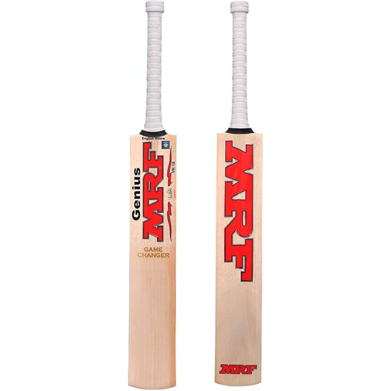 MRF Genius Game Changer Cricket Bat Short Handle - Short Handle - BATS - MENS ENGLISH WILLOW
