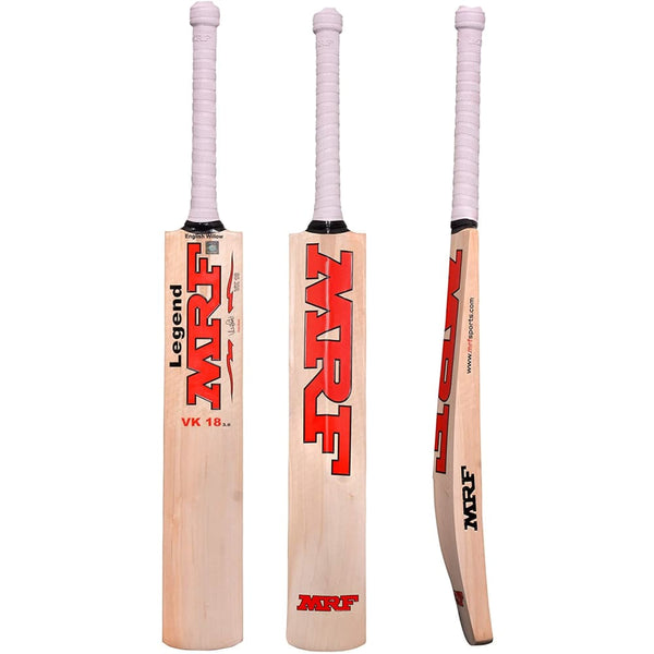 MRF Legend VK 18 1.0 Junior Cricket Bat - BATS - YOUTH ENGLISH WILLOW