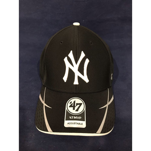 New York Yankees Hat Cap 47 Brand MLB Adjustable Black Official - CLOTHING - HEADWEAR