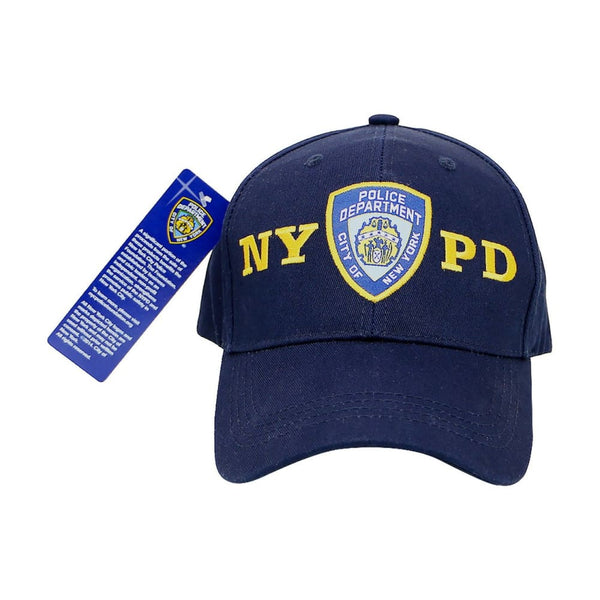 NYPD Police Baseball Hat Cap New York Official Adjustable - CLOTHING - HEADWEAR