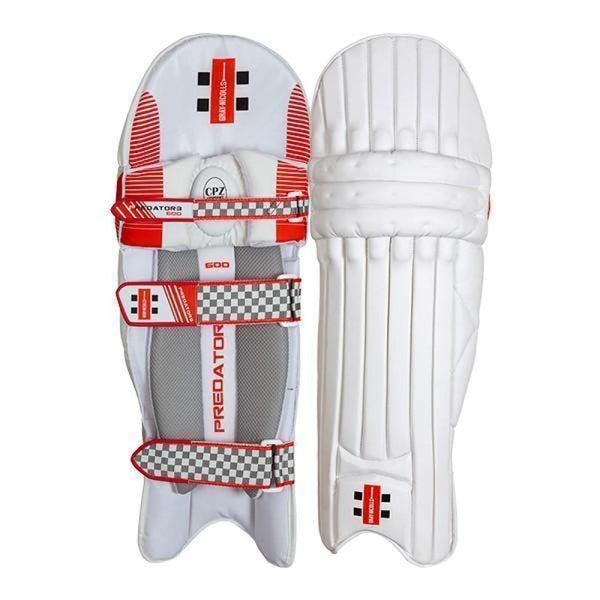 Predator3 600 Batting Pads Gray Nicolls - PADS - BATTING