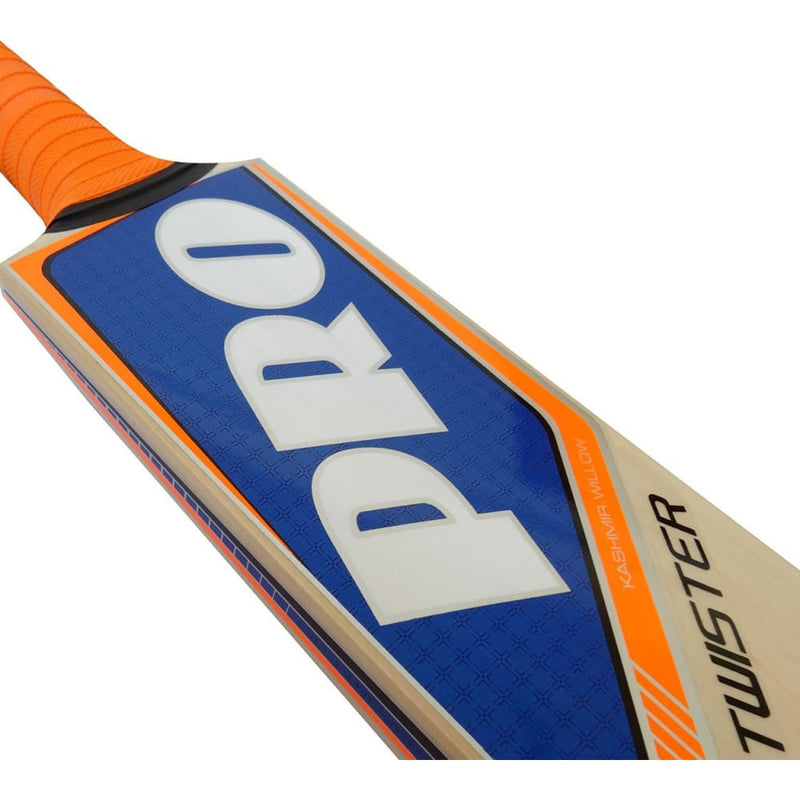 Protos Pro Twister Cricket Bat Kashmir Willow - Short Handle - BATS - MENS KASHMIR WILLOW