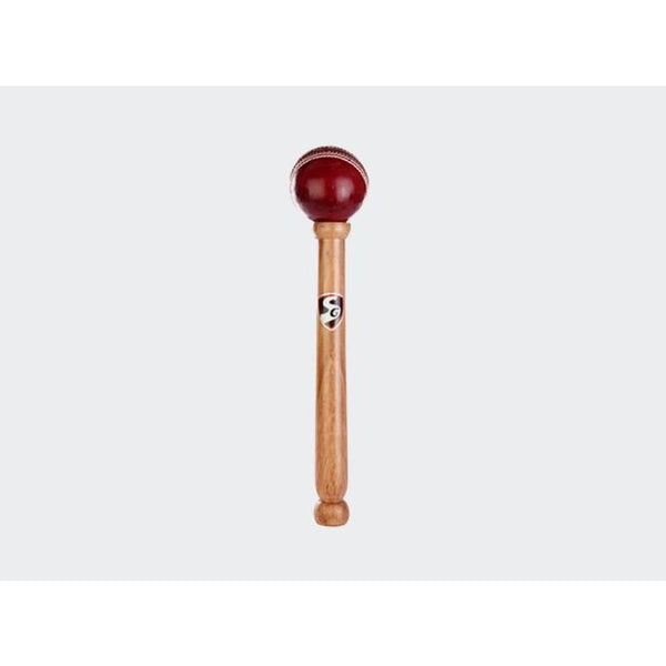 SG Cricket Bat Mallet With Leather Ball - Bat Mallet