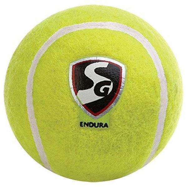 SG Endura Yellow Heavy Weight Cricket Ball Tennis - BALL - SOFTBALL