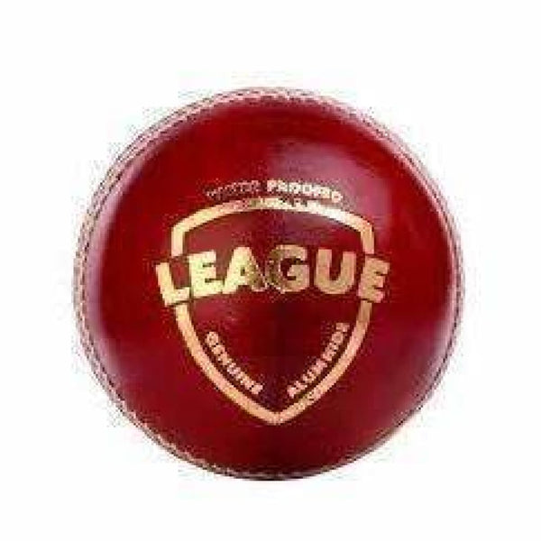 SG League Cricket Ball Red Hard Leather Ball Senior - BALL - 4 PCS LEATHER