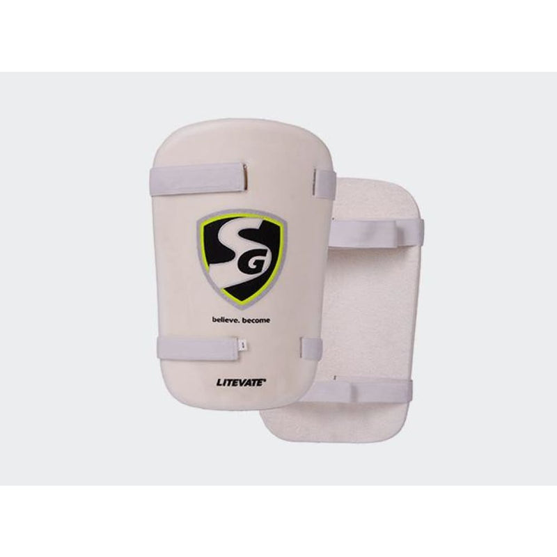 SG Litevae Cricket Thigh Pad Mens Ambi Used by RH & LH Batsman - Mens Ambi - BODY PROTECTORS - THIGH GUARD