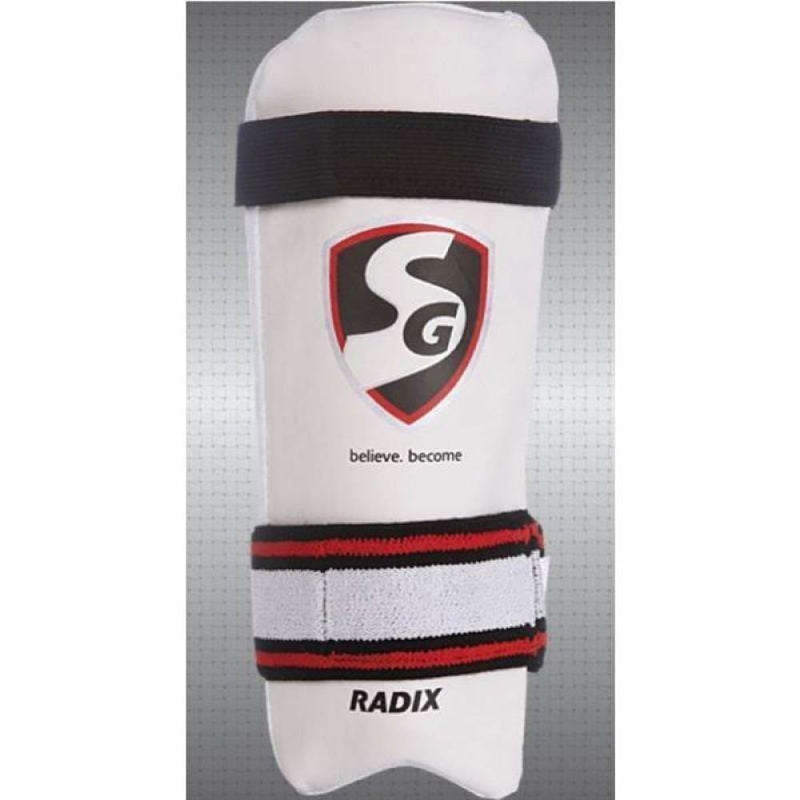 SG Radix Cricket Arm Elbow Guard Soft Toweled Back - BODY PROTECTORS - ARM GUARDS