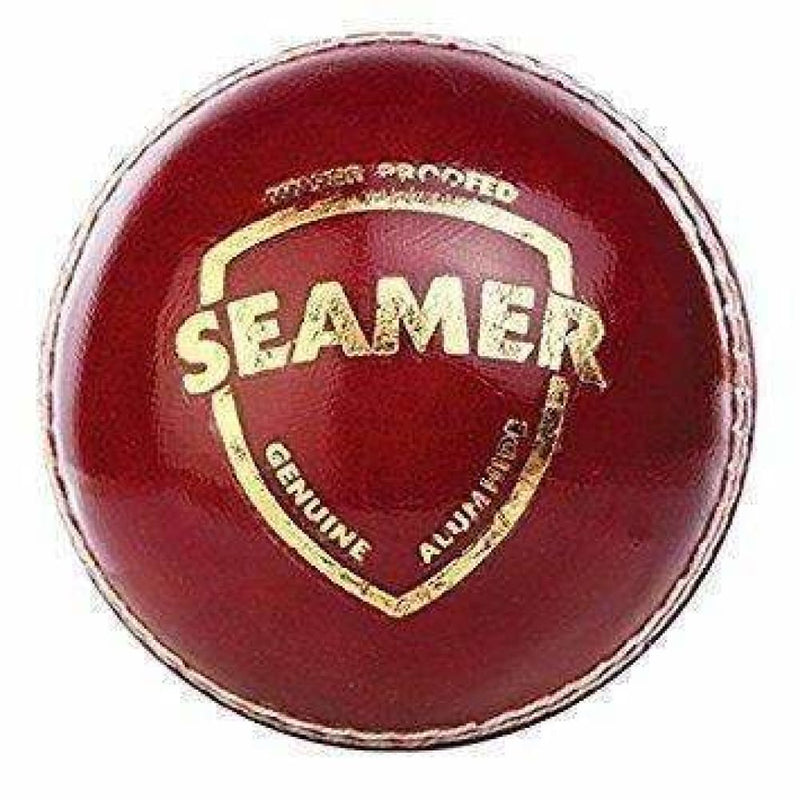 SG Seamer Cricket Ball Red Hard Leather Ball Senior - BALL - 2 PCS LEATHER