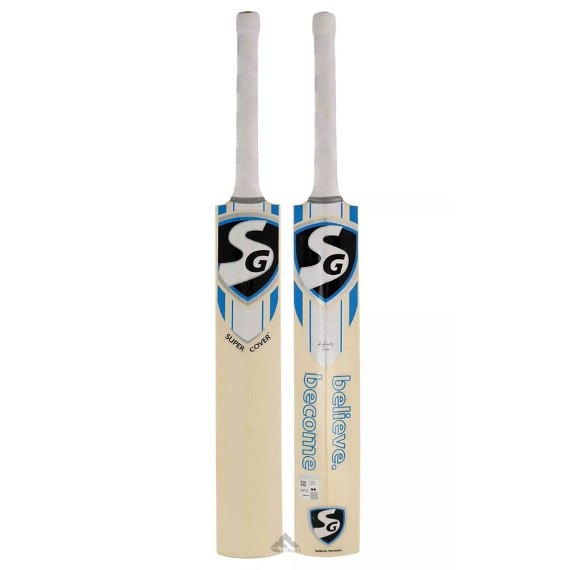 SG Super Cover Cricket Bat - Long Blade - BATS - YOUTH ENGLISH WILLOW