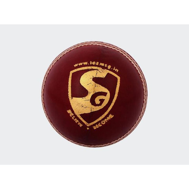 SG Tournament Cricket Ball Red Hard Leather Cricket Ball Senior - BALL - 4 PCS LEATHER