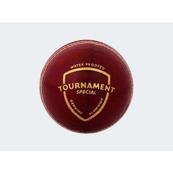 SG Tournament Special Cricket Ball Red Hard Ball Senior - BALL - 4 PCS LEATHER