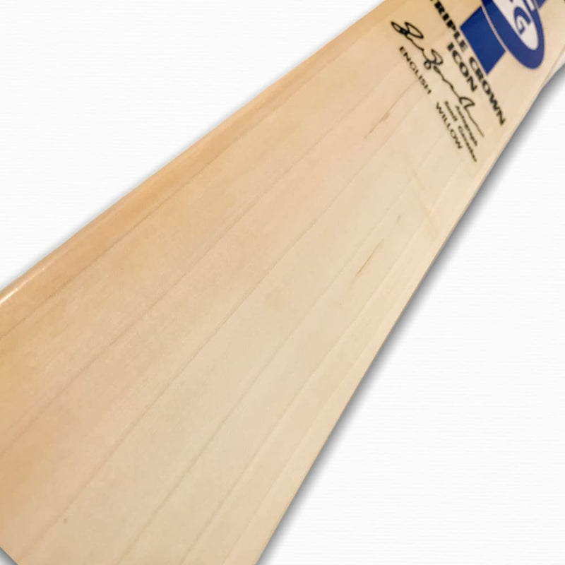SG Triple Crown Icon Cricket Bat English Willow - Short Handle - BATS - MENS ENGLISH WILLOW