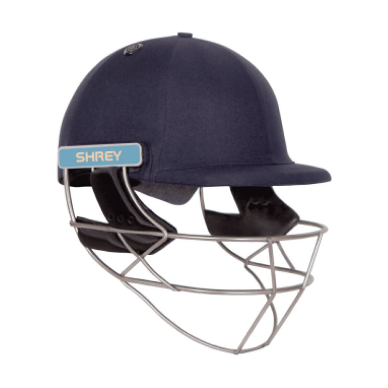 Shrey Master Class AIR 2.0 Cricket Helmet STEEL 2020 Navy - HELMETS & HEADGEAR