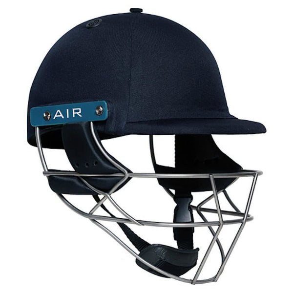 Shrey Master Class AIR 2.0 Cricket Helmet TITANIUM Navy - HELMETS & HEADGEAR