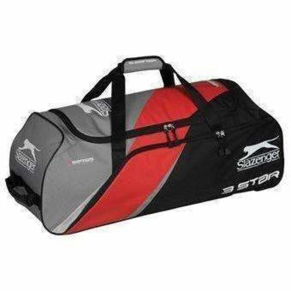 Slazenger 3 Star Wheelie Cricket Bag - BAG - PERSONAL