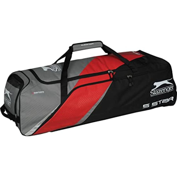 Slazenger 5 Star Wheelie Cricket Bag - 40x13x14 - BAG - PERSONAL