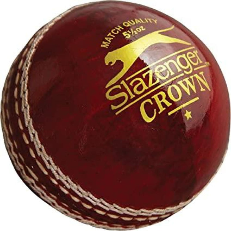 Slazenger Crown Red Cricket Ball Senior - Senior - BALL - 4 PCS LEATHER