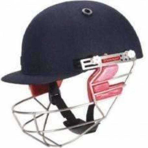 Slazenger Elite Pro Cricket Helmet Navy - HELMETS & HEADGEAR