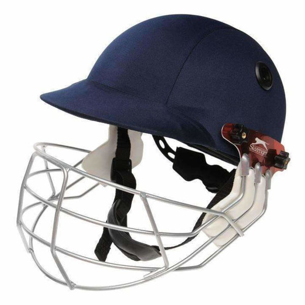 Slazenger International Cricket Helmet Navy - HELMETS & HEADGEAR