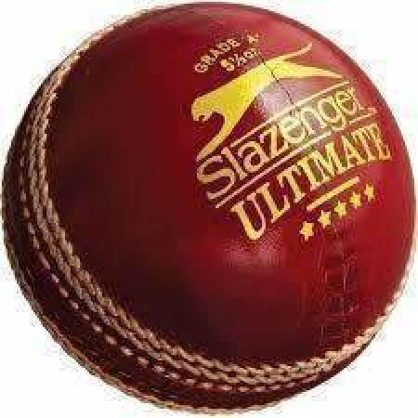 Slazenger Ultimate Cricket Ball - BALL - 4 PCS LEATHER