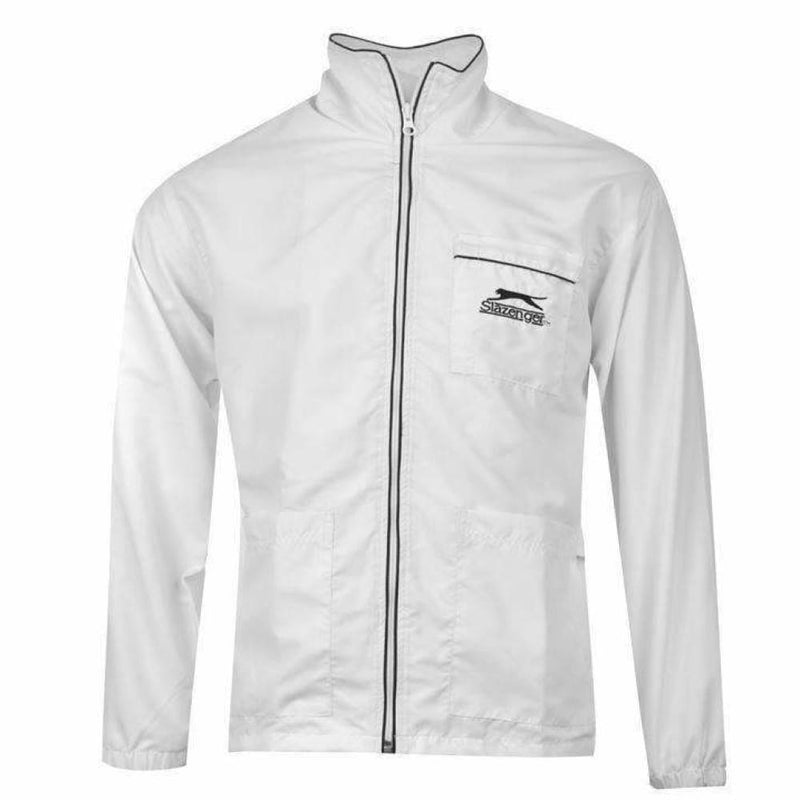Slazenger Umpire Coat White - CLOTHING - ACCESSORIES