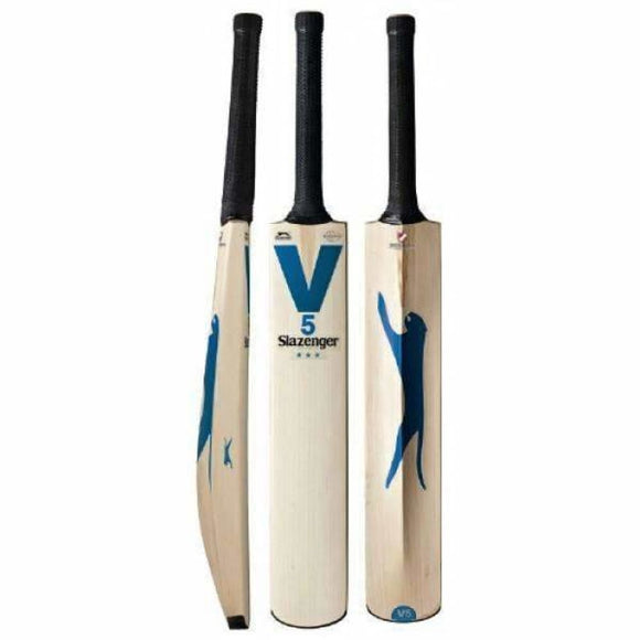 Slazenger V5 3 Star Cricket Bat - BATS - MENS ENGLISH WILLOW