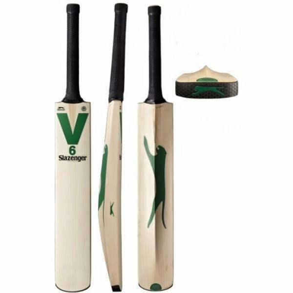 SLAZENGER V6 Cricket Bat - BATS - MENS ENGLISH WILLOW