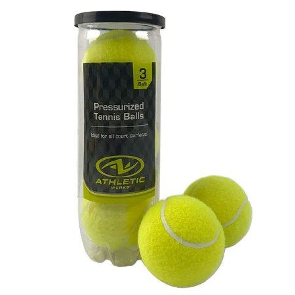 Softball Tennis Tape Bat Cricket Ball by Athletic Pack of 3 - BALL - SOFTBALL