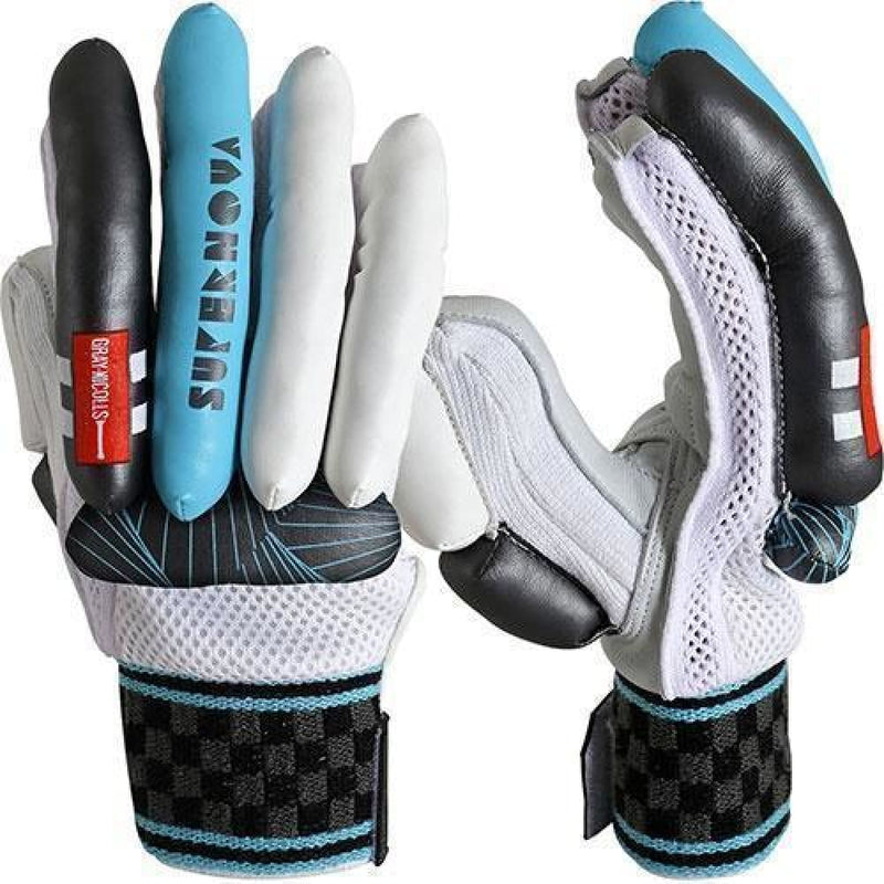 Supernova Academy Cricket Batting Gloves Gray Nicolls - GLOVE - BATTING