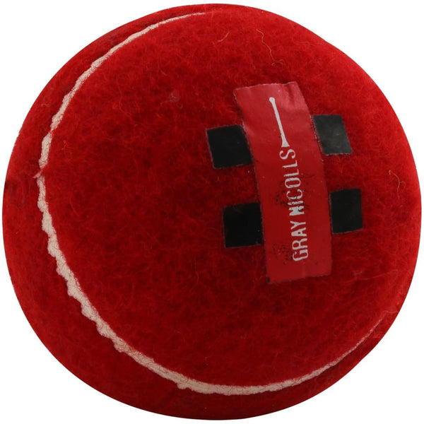 Tennis Cricket Ball Red Fielding Practice Coaching Soft Gray Nicolls - BALL - SOFTBALL