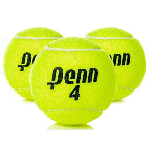 Tennis Tape Bat Cricket Ball Penn 4 by Penn Pack of 3 Softballs - BALL - SOFTBALL
