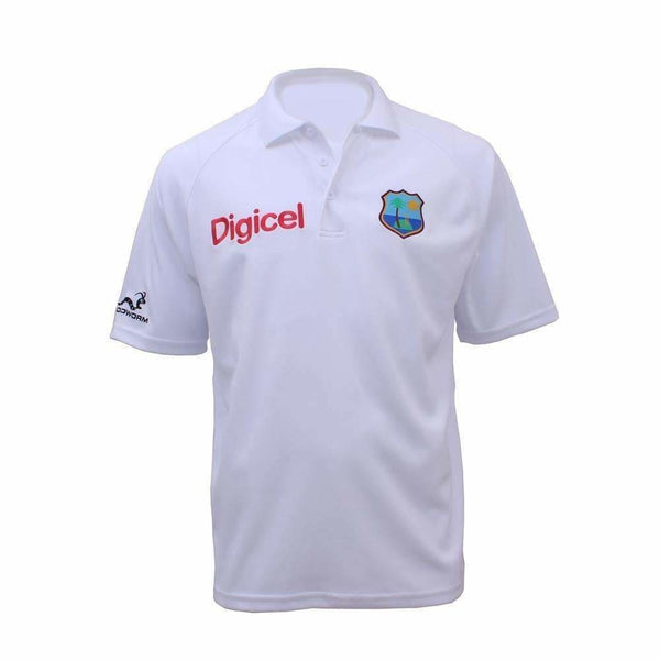 Woodworm West Indies Polo Shirt White - CLOTHING - SHIRT