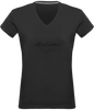 "T-shirt col V Femme ""Madame Chocolat"" - justchocolate"
