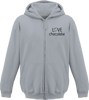 "Sweat shirt zippé capuche Enfant ""Love Chocolate"" - justchocolate"