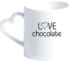 "Mug Coeur ""Love chocolate"" - justchocolate"
