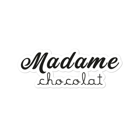 Sticker Madame Chocolat - justchocolate
